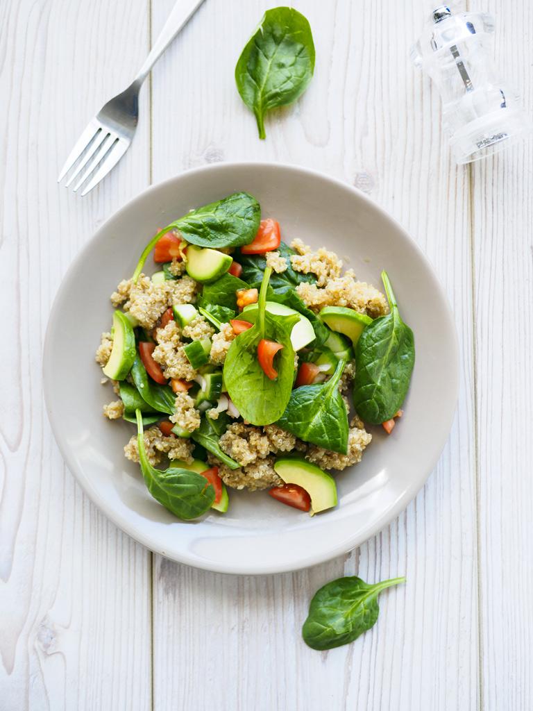 La salade fraîche et légère