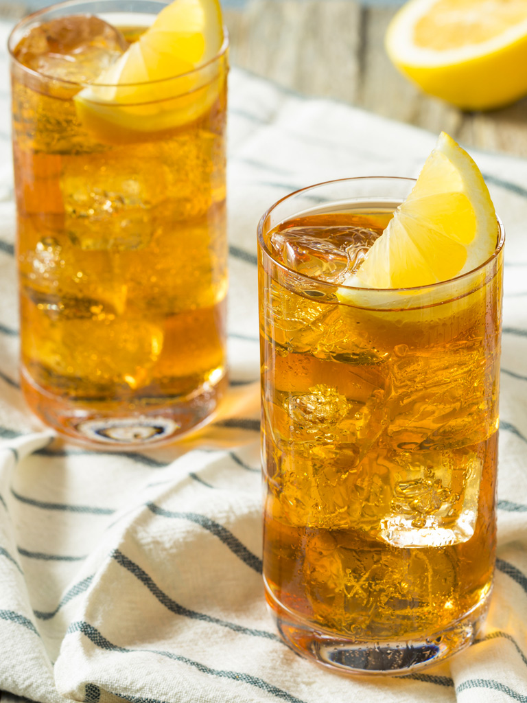Le thé glacé ultra rafraîchissant