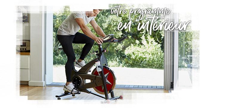 Quel entraînement avec mon vélo d'intérieur ?