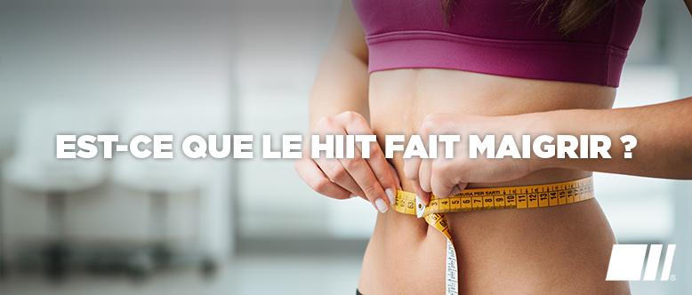 Est-ce que le HIIT fait maigrir ?