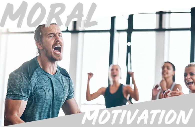 le sport améliore notre morale