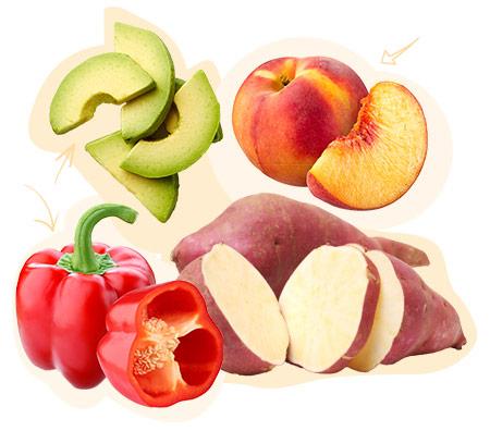 Au rayon fruits & légumes