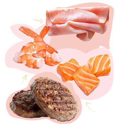 Au rayon viandes & poissons