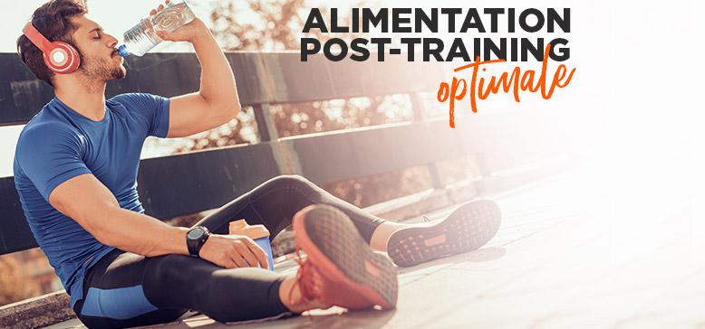 Alimentation post training optimale