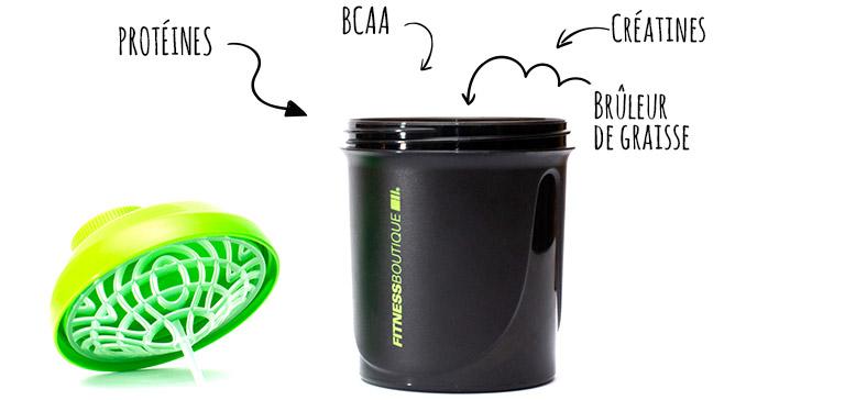 Le « shaker idéal » ou comment associer les compléments alimentaires efficacement !