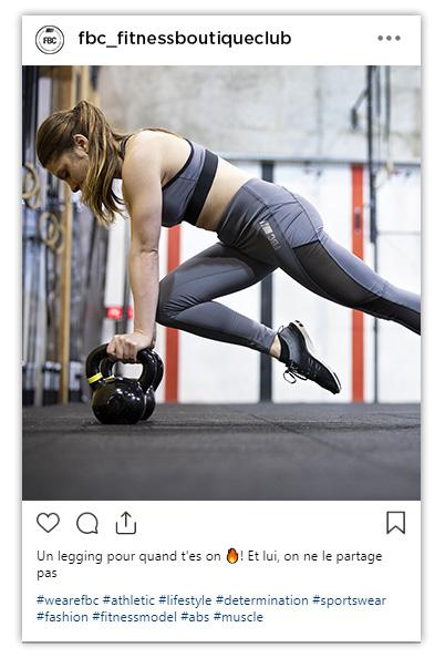 LE legging pour la salle de sport