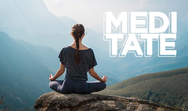 Je fais de la relaxation / du yoga / du pilates