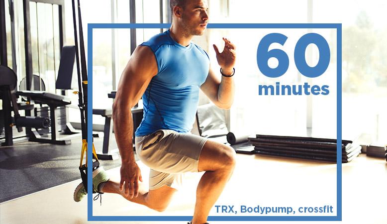 60 minutes pour faire du sport au deujeuner
