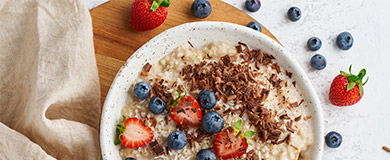 3 idées de toppings pour un breakfast bowl porridge parfait