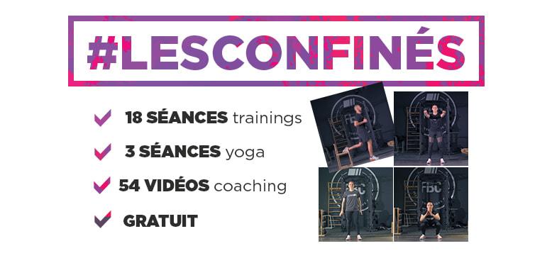 Programme #lesconfinés - FitnessBoutique