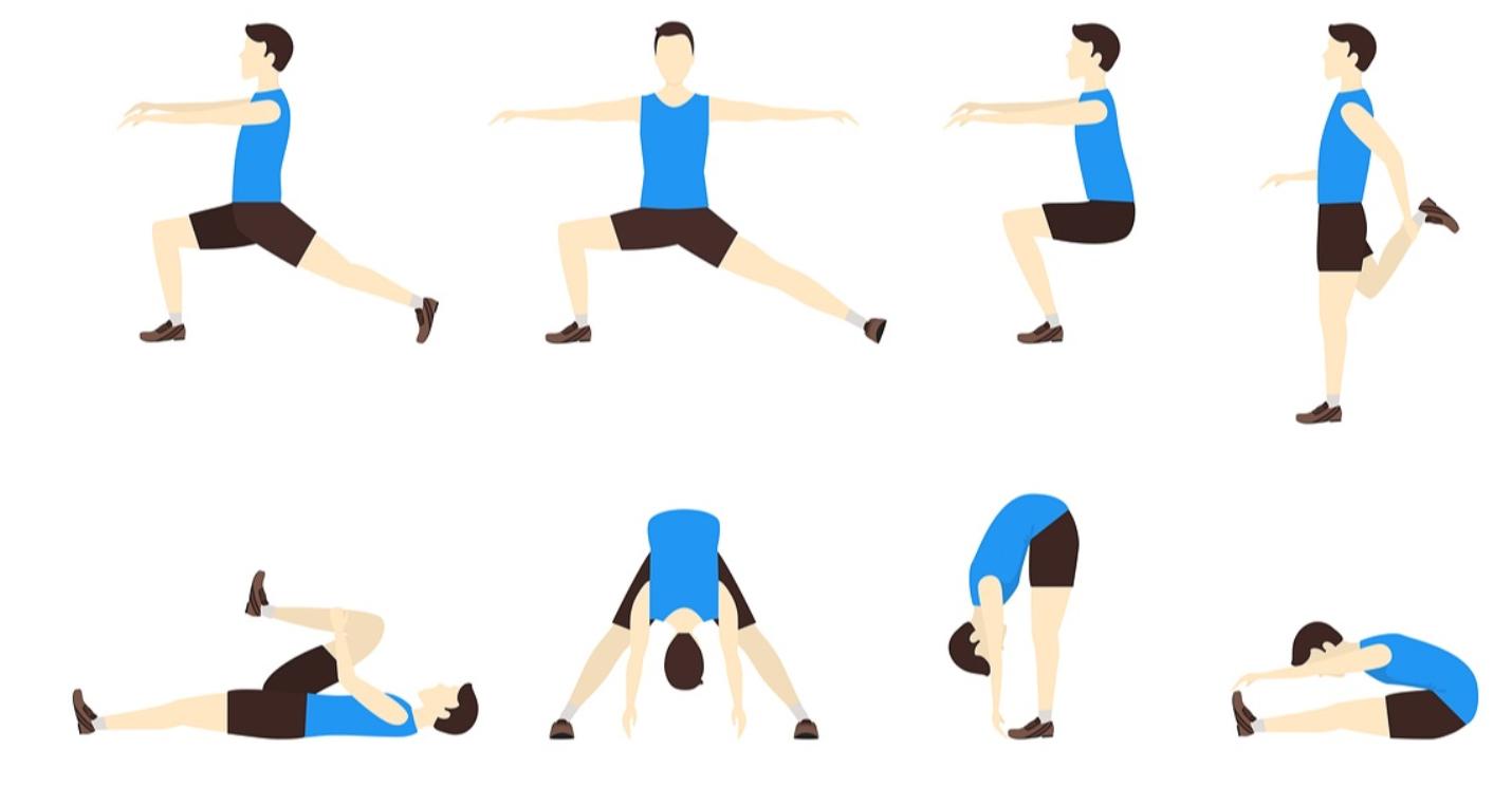 Enchainement pour étirer les muscles