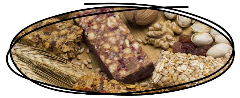 Instructions pour faire vos barres protéinées salées