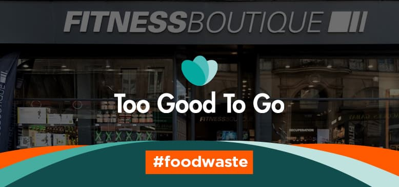 FitnessBoutique s'engage avec Too Good To Go