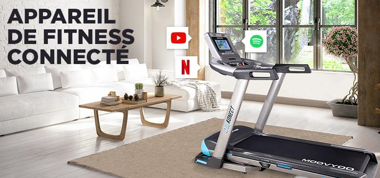 Appareil de Fitness Connecté : S'entrainer en se divertissant