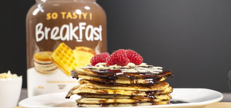 Recette de délicieux Pancakes Protéinés