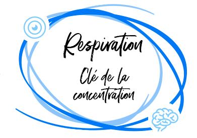 La respiration : clé de la concentration
