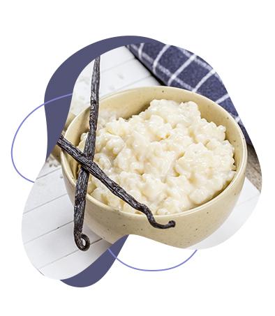 Riz au lait protéiné