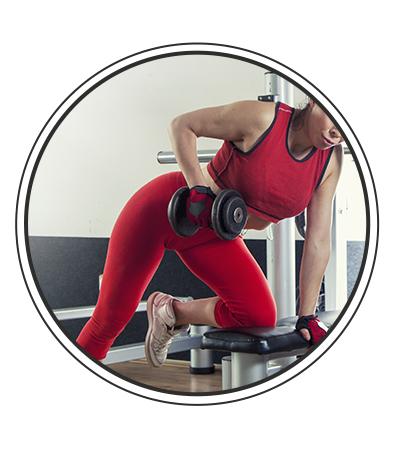 Séance 1 avec des accessoires de musculation