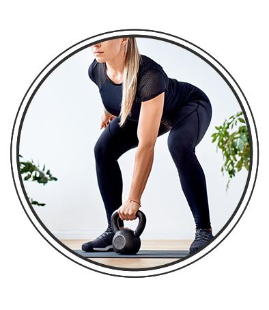 Séance 2 avec des accessoires de musculation