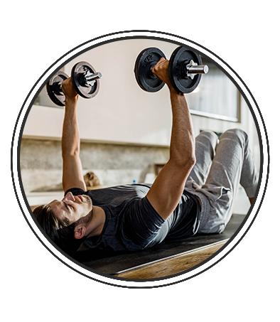 Séance 7 avec des accessoires de musculation