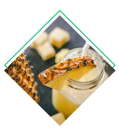 Smoothie pommes - ananas détox