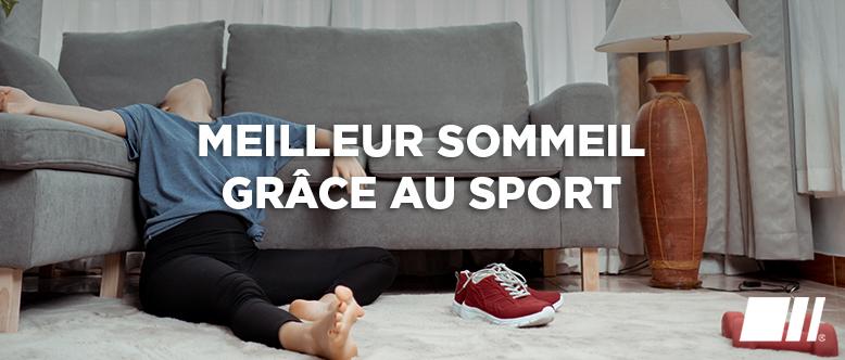 Quel sport favorise un meilleur sommeil ?