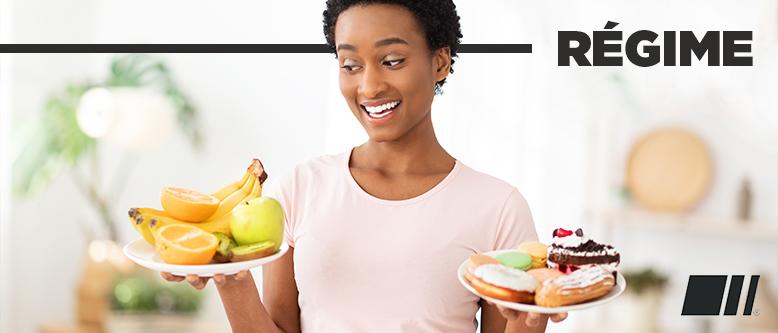 Choisir un régime plutôt qu'un rééquilibrage alimentaire