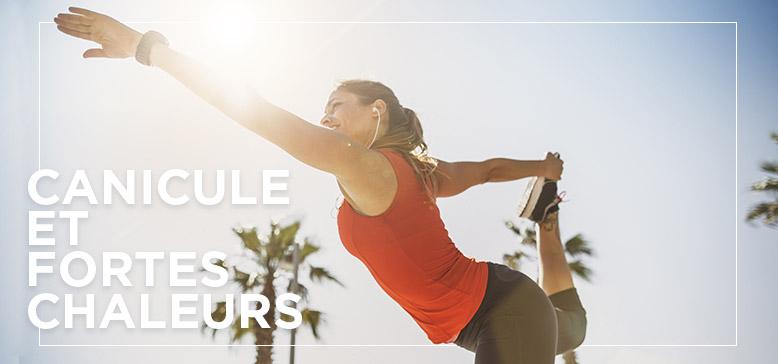 Peut-on faire du sport en période de fortes chaleurs ?