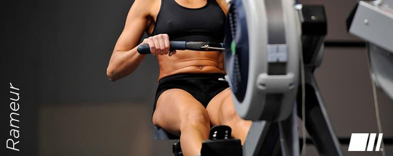 Perte de poids & Tonification musculaire grâce au Rameur