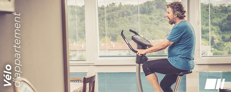 Santé / remise en forme avec une vélo d'appartement