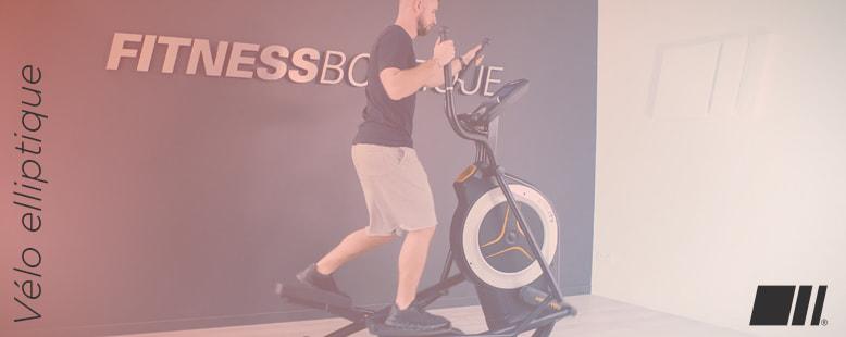 Vélo Elliptique : Roue d'inertie avant ou arrière
