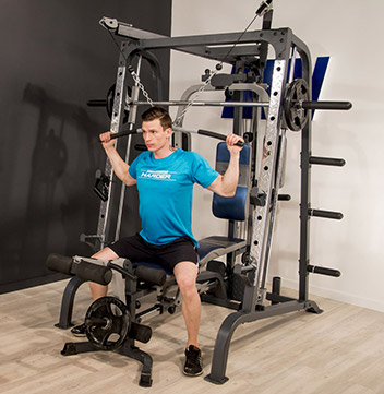Composition de la Smith Machine