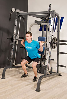 Utilisation de la Smith Machine