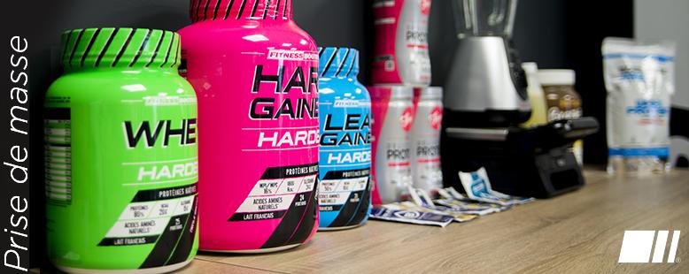 Quel est le meilleur produit pour prendre de la masse musculaire ?