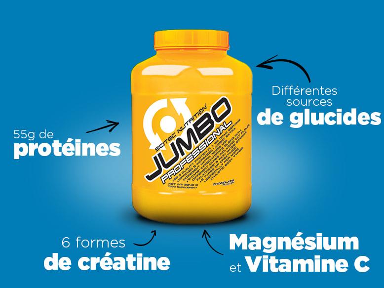 Gainer Jumbo Professional de Scitec Nutrition