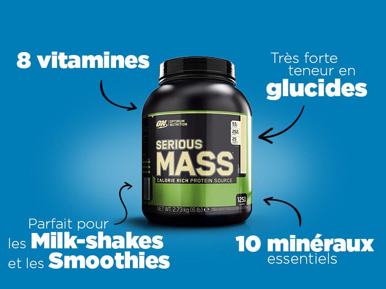 Gainer Serious Mass de Optimum Nutrition