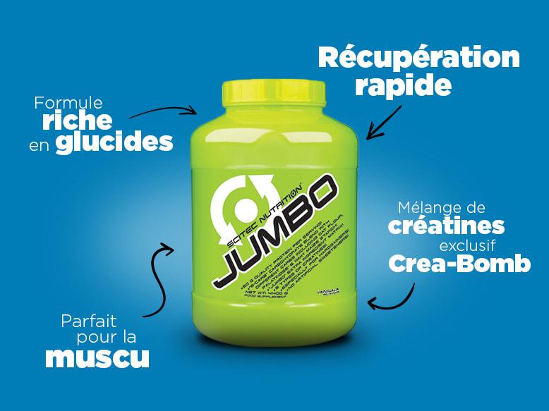 Gainer Jumbo de Scitec Nutrition