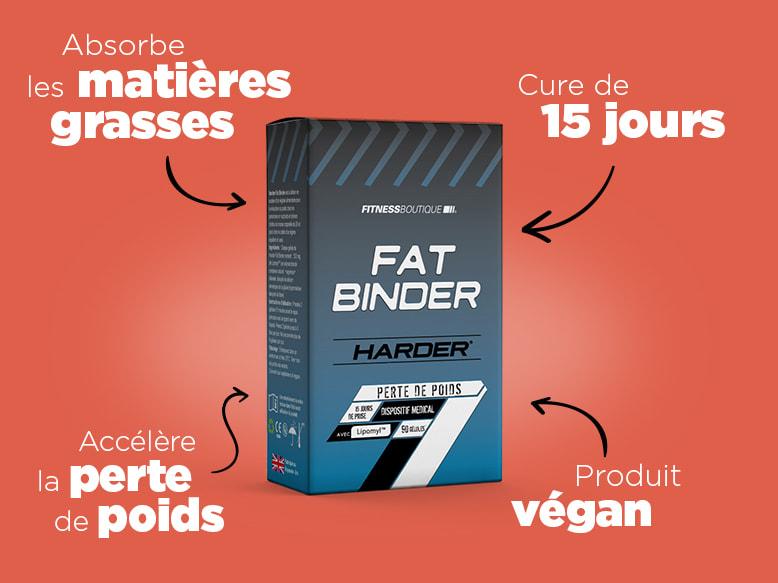 Brûleur de graisse Fat Binder d'Harder