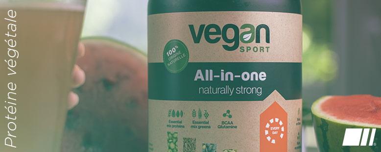 Protéine Végétale et Sport