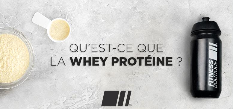 Qu'est ce que la Whey Protéine ?