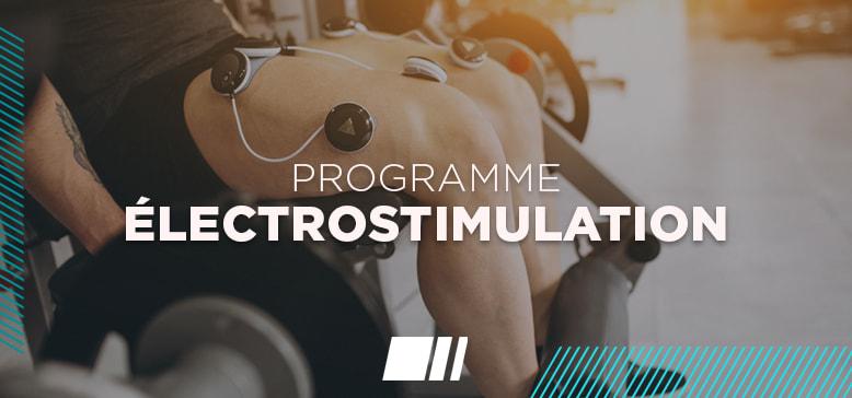 Programme : Electrostimulation