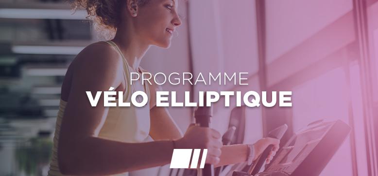 Programme : Vélo elliptique