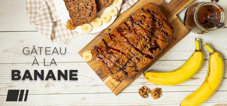 Recette : Gâteau à la banane healthy