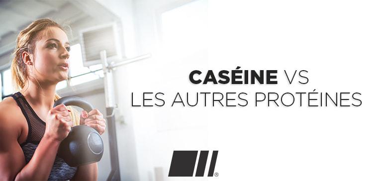 Quelles différences entre la caséine et les autres protéines ?