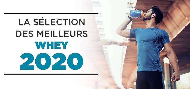 Sélection des meilleures Whey Protéines 2020