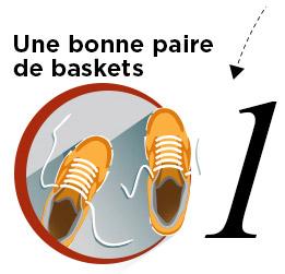 Une bonne paire de baskets