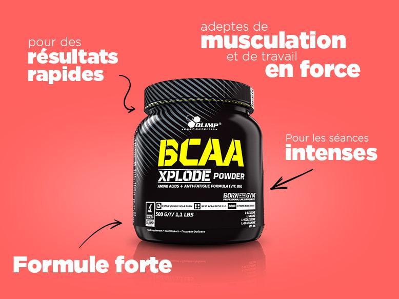 BCAA Xplode Powder d'Olimp Nutrition