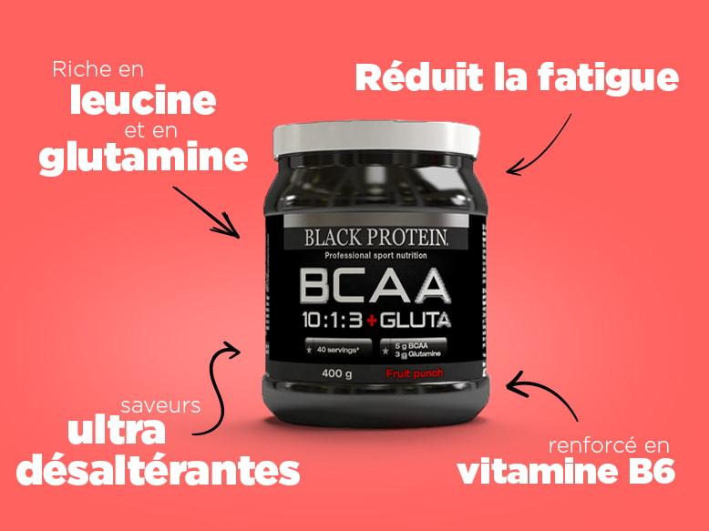 BCAA 10:1:3 + Gluta de Black Protein