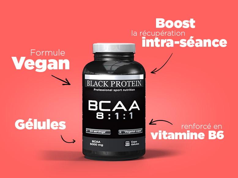 BCAA 8:1:1 de Black Protein