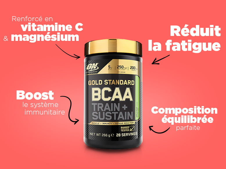 BCAA Gold Standard Train Sustain d'Optimum Nutrition